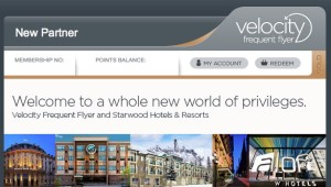 Starwood partnership allows Velocity members to transfer points from Starwood Preferred Guest to Velocity