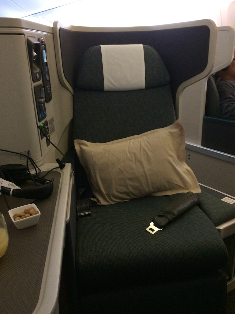 1 Cathay Pacific Business Class HKG-LHR 777-300ER