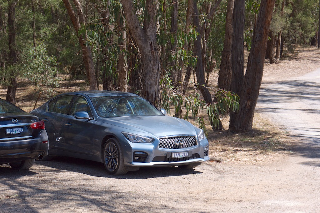 6 Infiniti Q50 Yarra Valley Drive Day