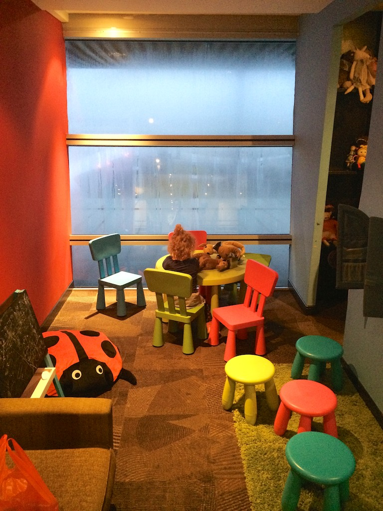22 Kids Room  Malaysia Airlines Golden Wing Satellite Lounge