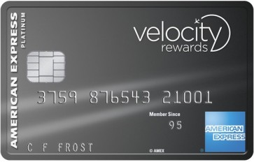 The sign-up offer on the Amex Velocity Platinum has just jumped to 90,000 bonus Velocity Points