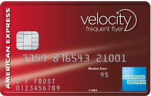 AMEX Velocity Frequent Flyer card