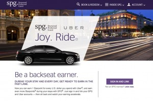 Starwood Hotels & Uber tie-up creates opportunity to earn points with every taxi ride you take