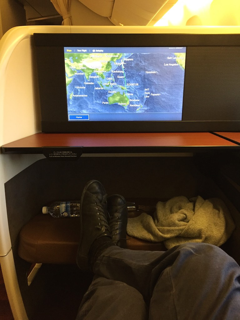 32 Japan Airlines First Class Cabin - JL772 - Sydney - Tokyo | Point Hacks