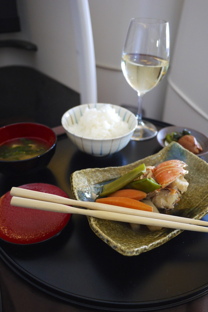 27 Japan Airlines First Class Dining - JL772 - Sydney - Tokyo | Point Hacks