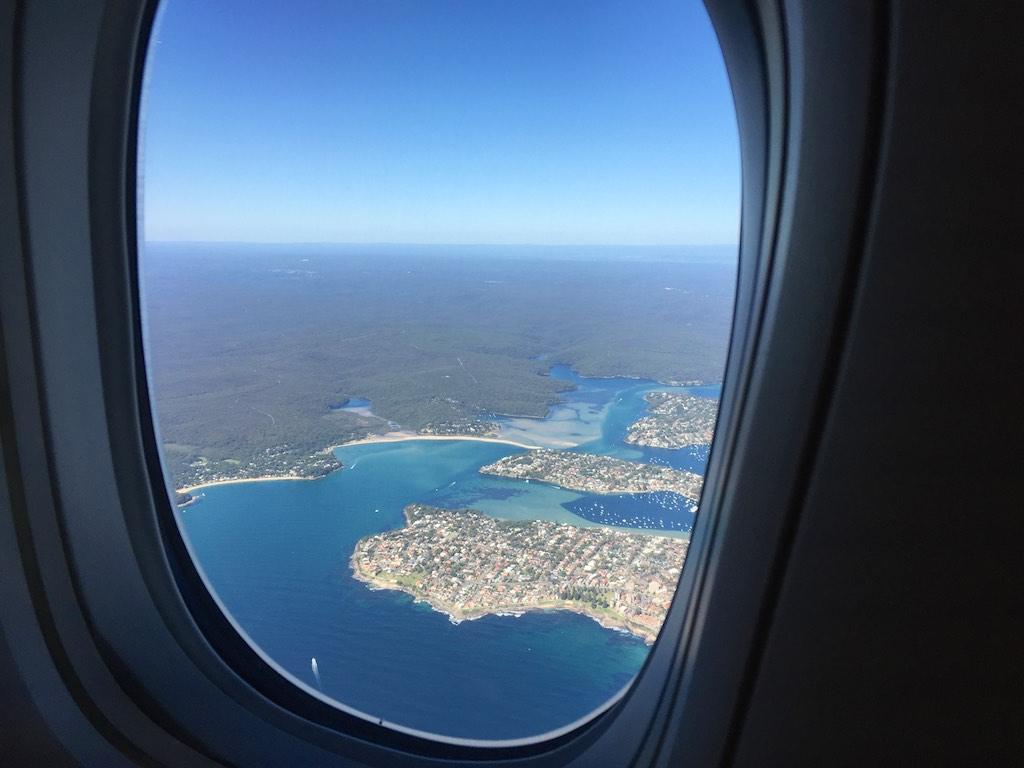 7 Departing Sydney - JL772 - Sydney - Tokyo
