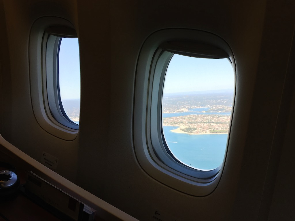 6 Departing Sydney - JL772 - Sydney - Tokyo