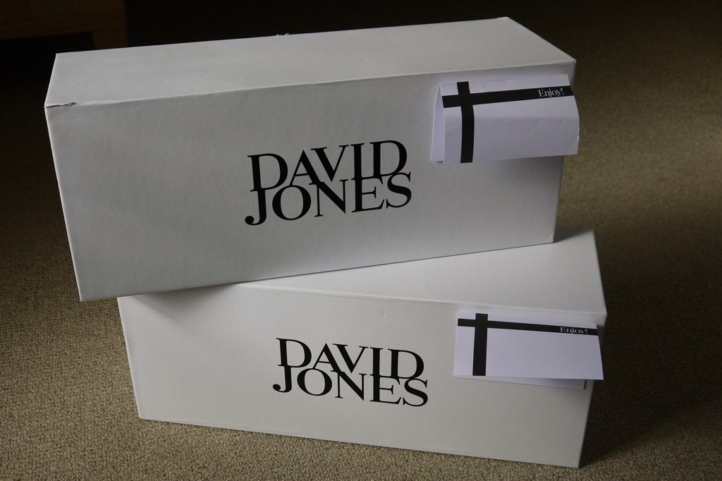 David Jones Gift Wrapping