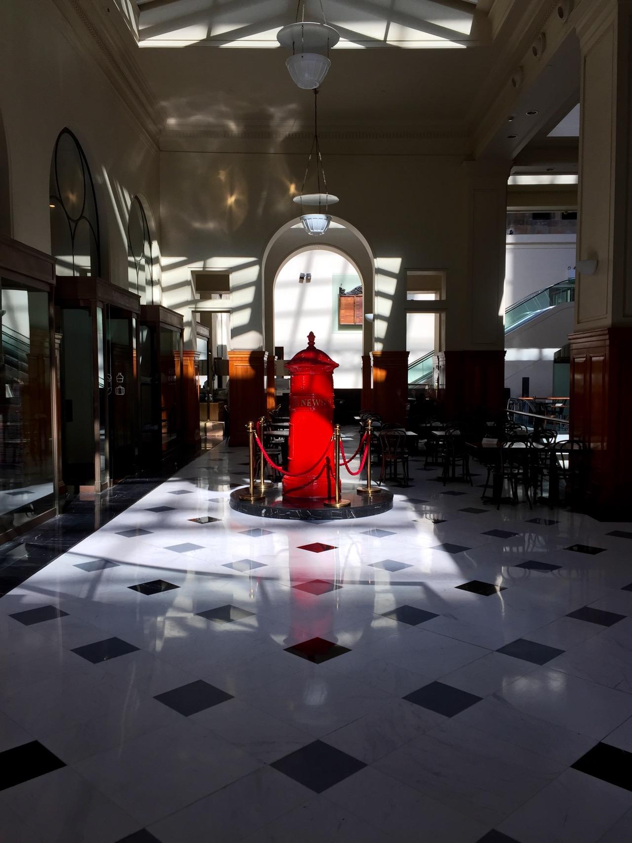 Westin Sydney Lobby - GPO History