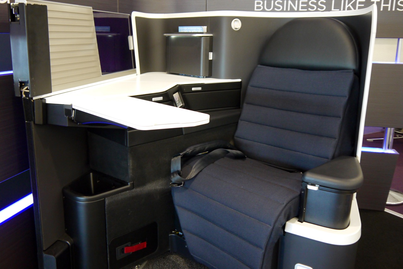 Virgin Australia new 2015 Business Class A330-777 Seat