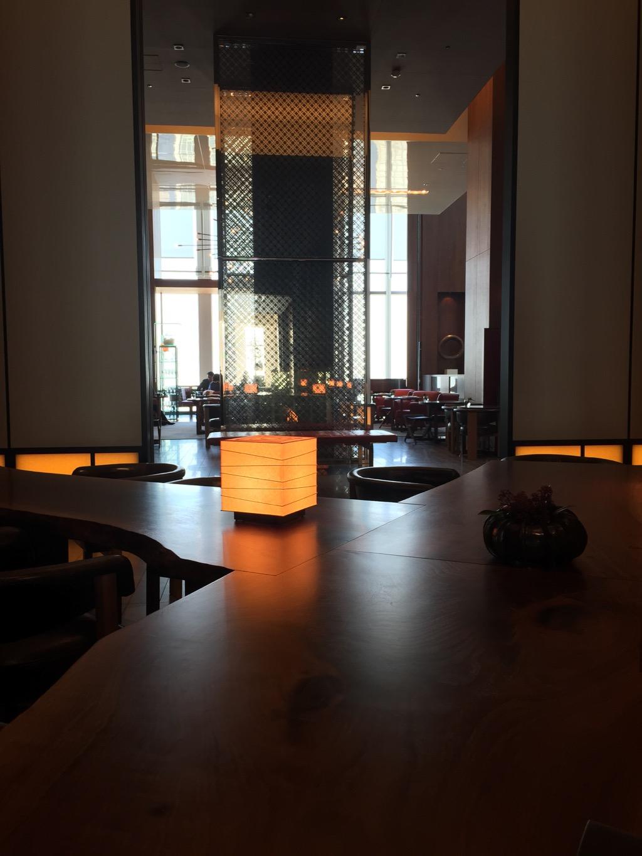50th Floor Lobby - Andaz Tokyo Toranomon Hills | Point Hacks