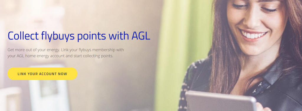Earning flybuys with AGL