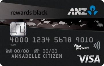 120,000 bonus ANZ Rewards points and $100 back with the ANZ Rewards Black