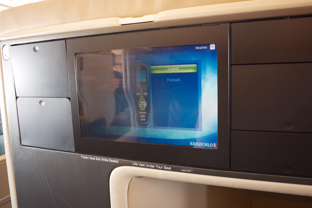 Singapore Airlines A380 Business Class Cabin (5)