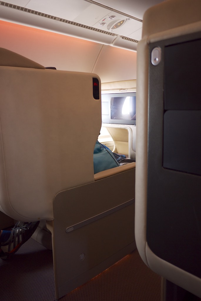 Singapore Airlines A380 Business Class Cabin (4) | Point Hacks