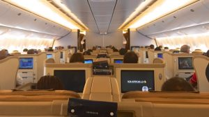 Singapore Airlines 777-300 Business Class Review – SQ211 Singapore – Sydney
