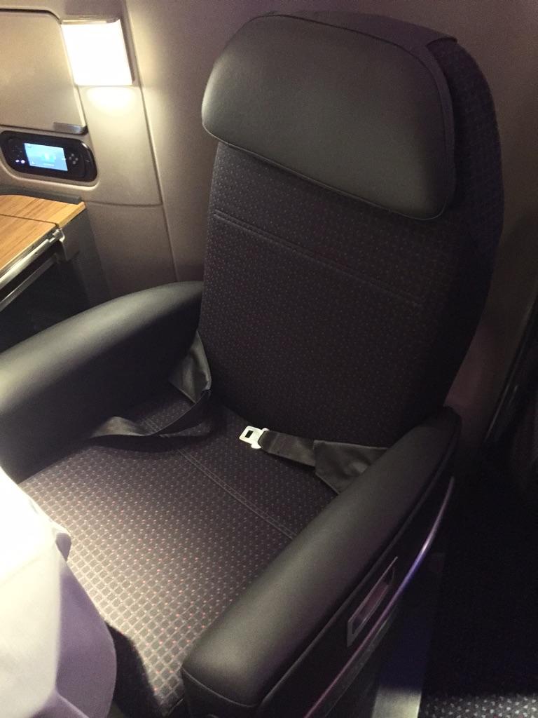 AA 777 300ER  First Class seat
