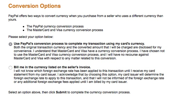 6 Paypal Conversion Options