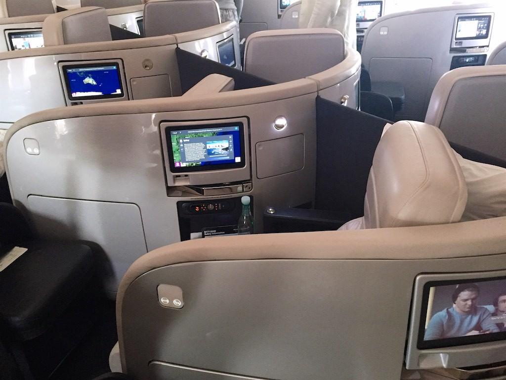 Air New Zealand 777-200 Business Class