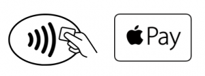 Contactless Apple Pay symbols