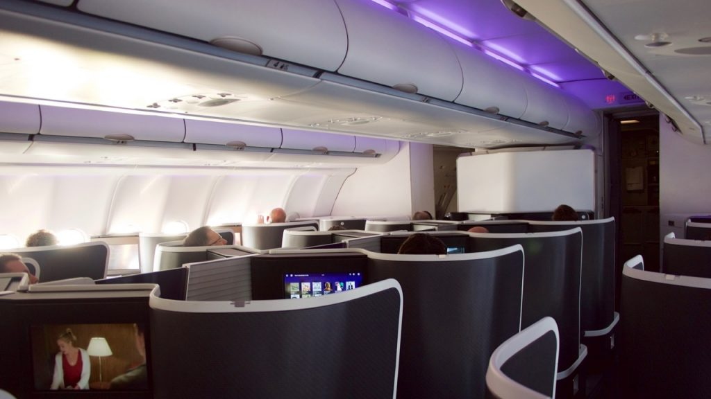 Virgin Australia 'The Business' A330 Business Class