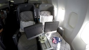 Qantas 747 Business Class Review – QF73 Sydney to San Francisco
