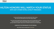 A guide to Hilton Honors status match offers | Point Hacks
