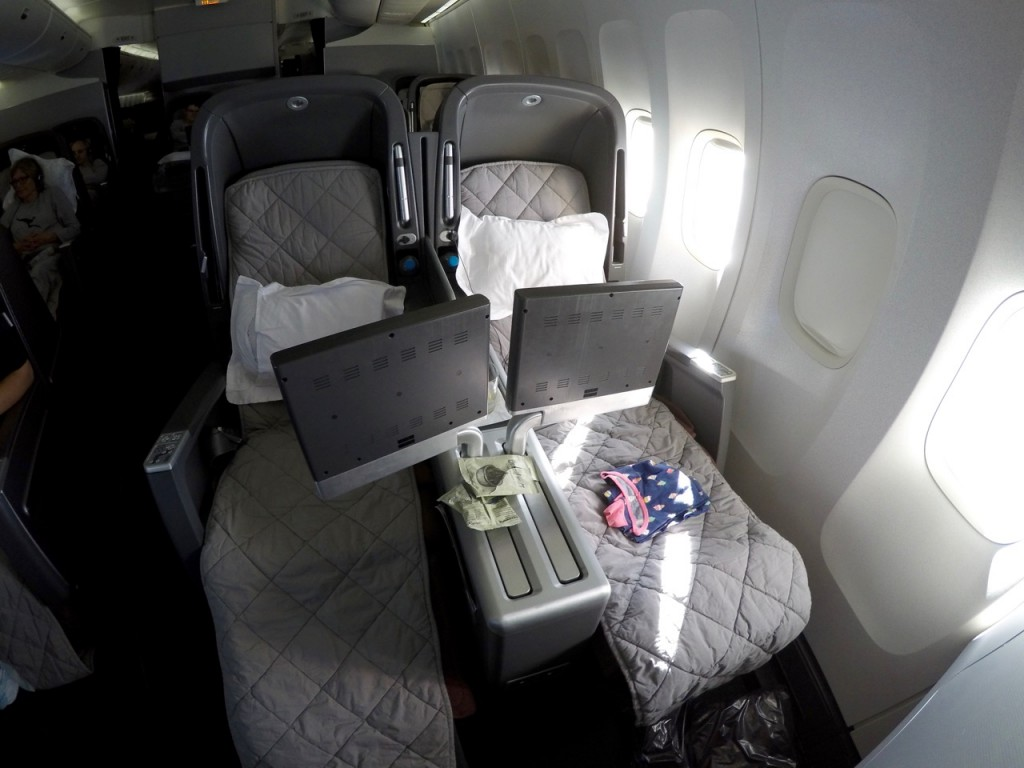 Qantas 747 Business Class Seat | Point Hacks