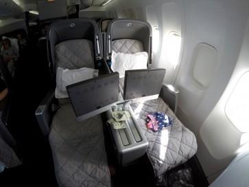 Qantas 747 Business Class Review – QF73 Sydney to San Francisco