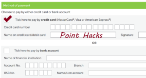 How to earn credit card points through 'direct debit' for your utility bills – and forms to get you started