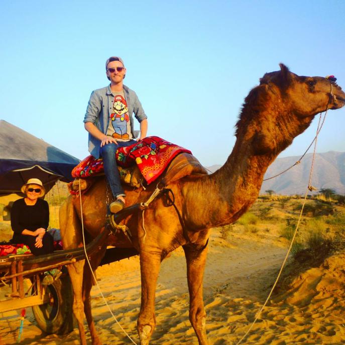 Matt in India