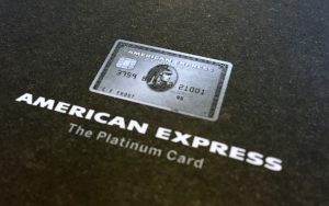 What arrives in the post once you're approved for the $1450 annual fee Platinum Charge card