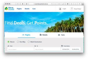 Using 'flybuys travel' to boost your points earn when booking flights with any airline & redeem for travel credit