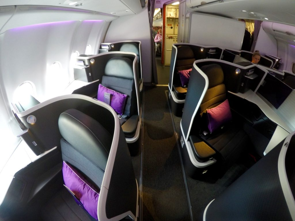 Virgin A330 Business Cabin | Point Hacks