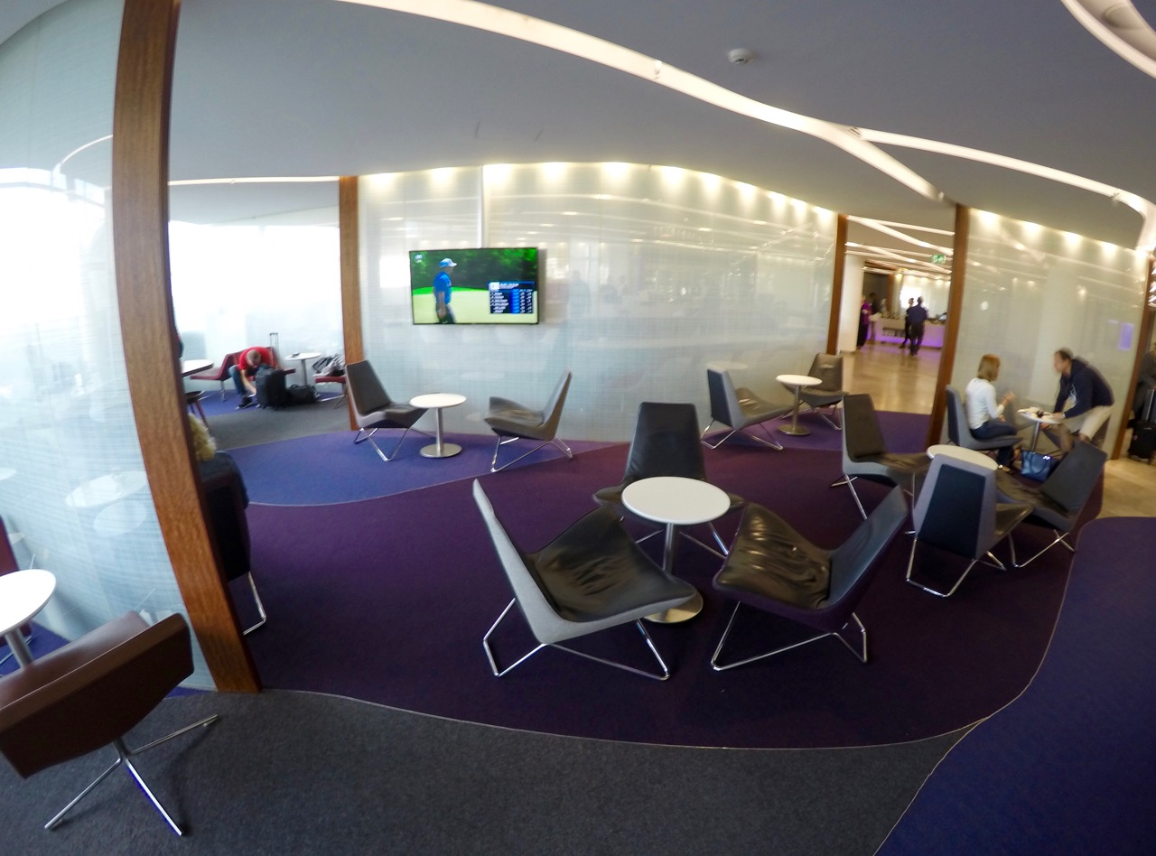 Virgin Australia Sydney lounge
