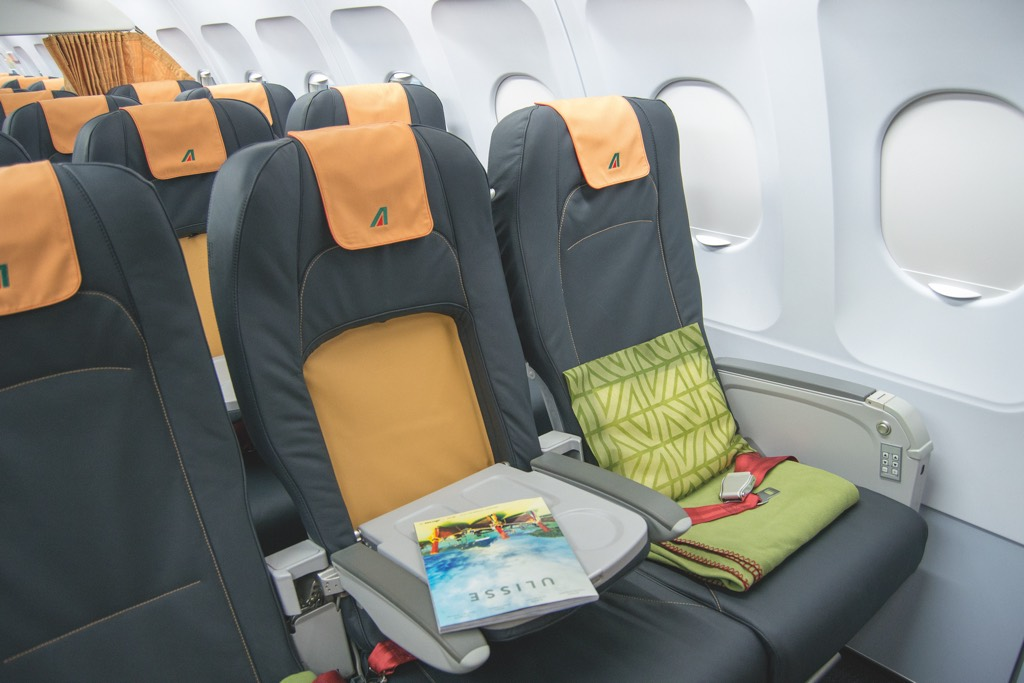 Alitalia intra-Europe Business Class