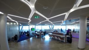 Virgin Australia Sydney Domestic Business Class Lounge overview
