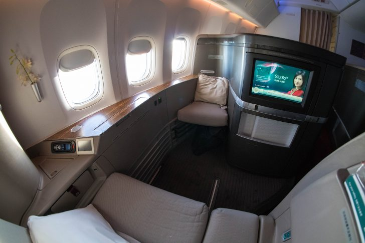 Cathay Pacific First Class Seat | Point Hacks