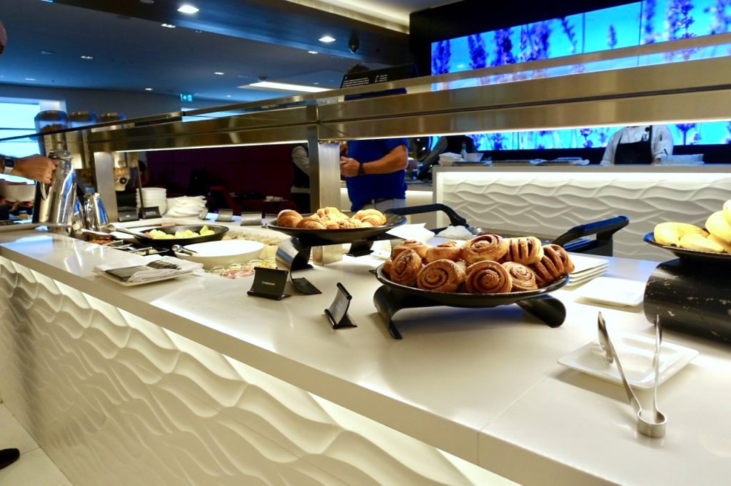 Air New Zealand Sydney Lounge Buffet