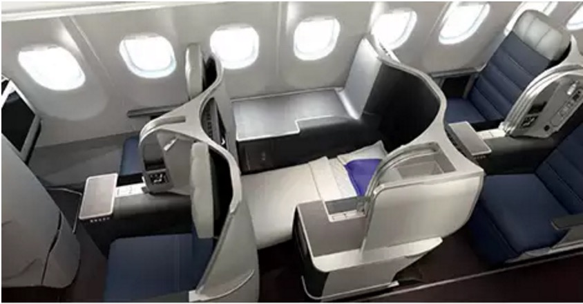 Business Class seat configuration on Malaysia Airlines' A330 | Point Hacks