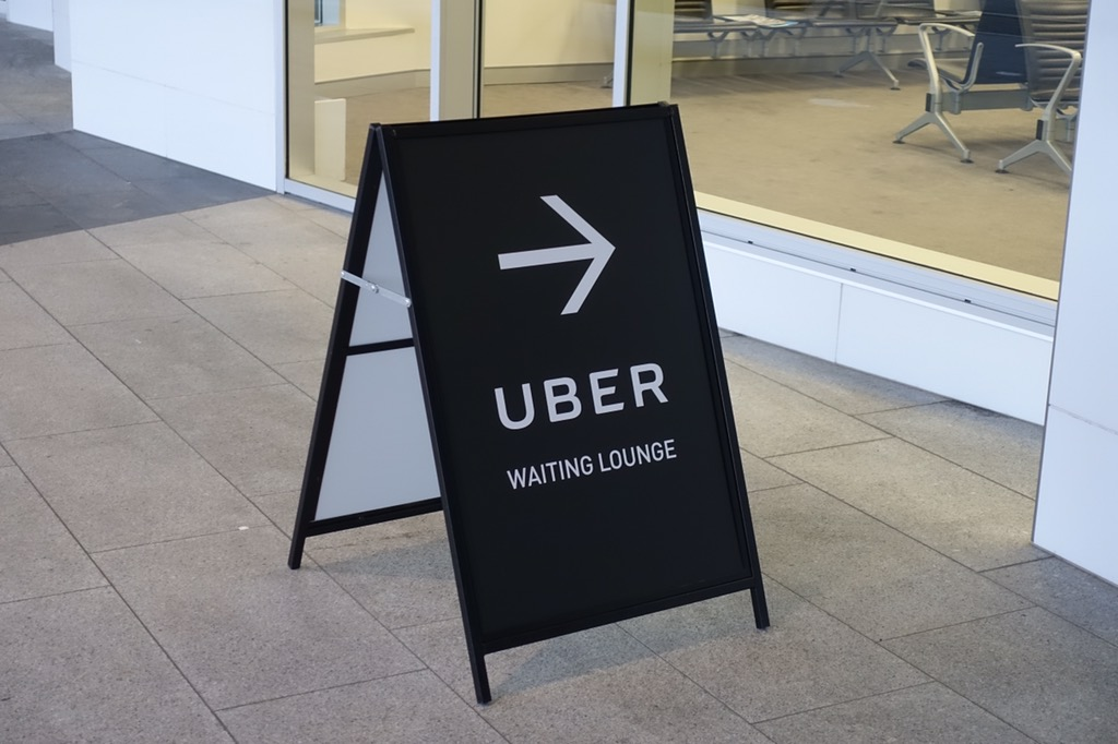 Canberra Uber waiting lounge