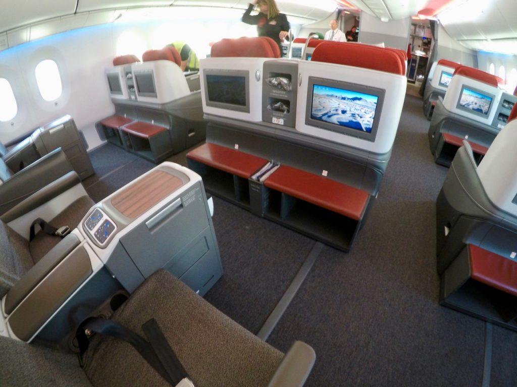LATAM Boeing 787 Dreamliner Business Class
