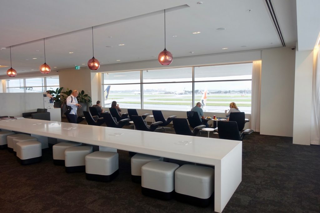Air New Zealand Sydney Lounge