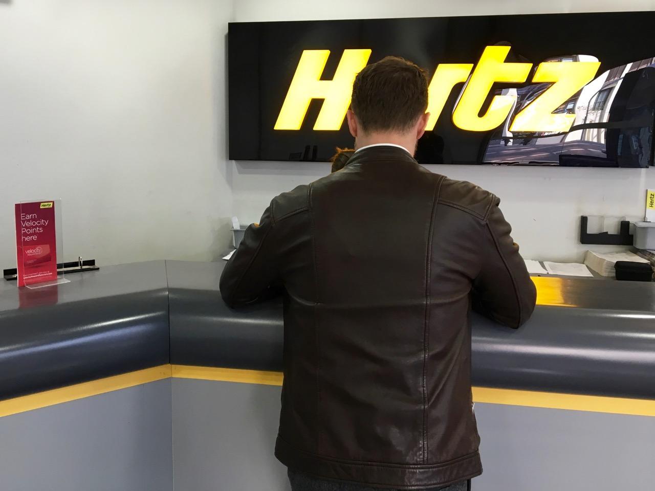 Hertz Qantas Business
