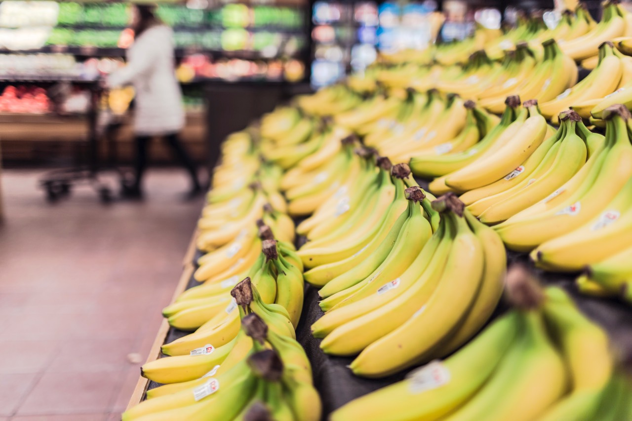 Supermarket bananas | Point Hacks
