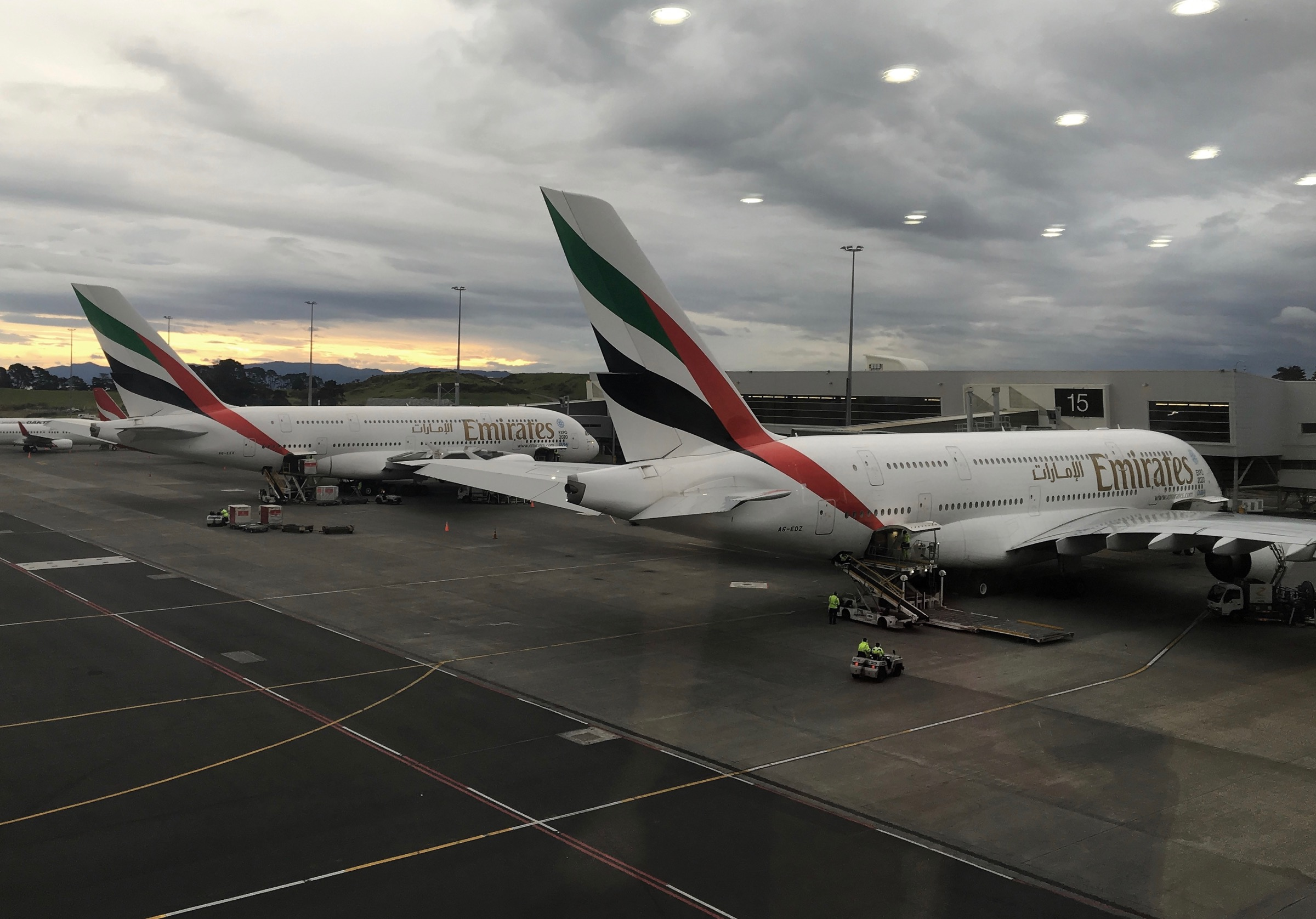 Emirates A380 on Tarmac | Point Hacks