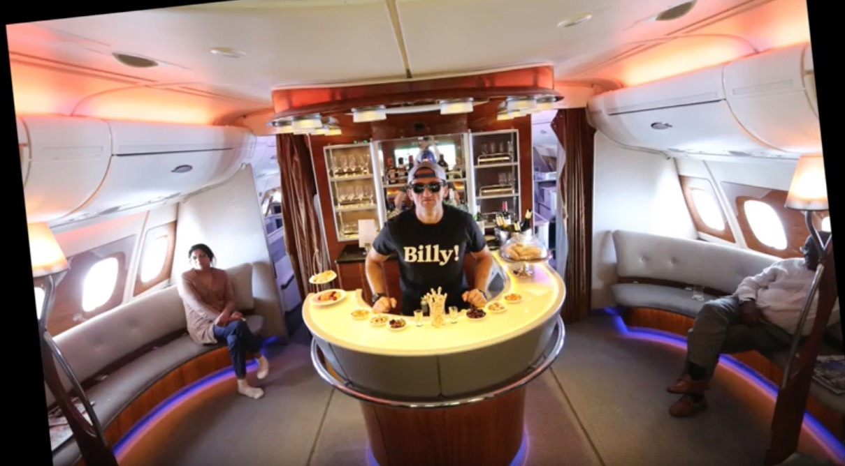 Emirates A380 Business Class With Casey Neistat