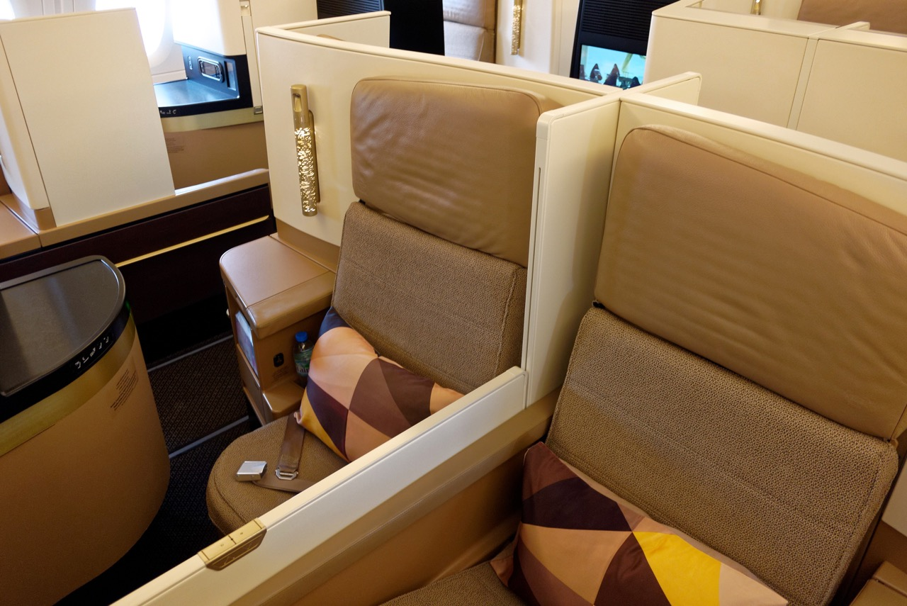 Etihad A380 Business Class Seats | Point Hacks