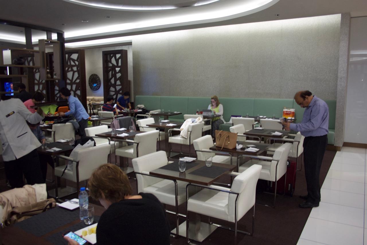 Etihad Abu Dhabi Lounge