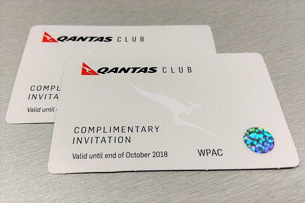 Westpac Altitude Black Qantas Club Pass